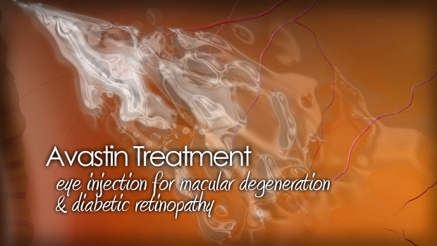 Avastin treatment for macular degeneration and diabetic retinopathy
