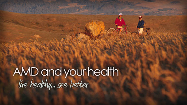 Healthy lifestyle leads to better vision