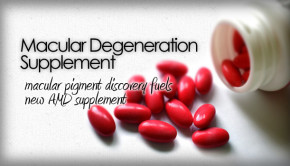 Macular degeneration supplement eye vitamin