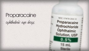 proparacaine eye drops