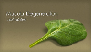 macular degeneration and nutrition