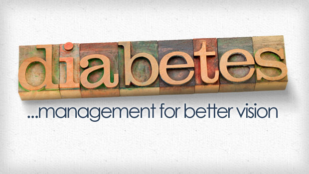 Diabetes management for better vision