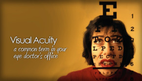 Visual acuity and how the eye works