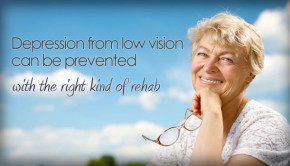 low vision and depression